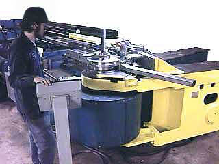 Auto Weld Chassis Employee Bending Frames