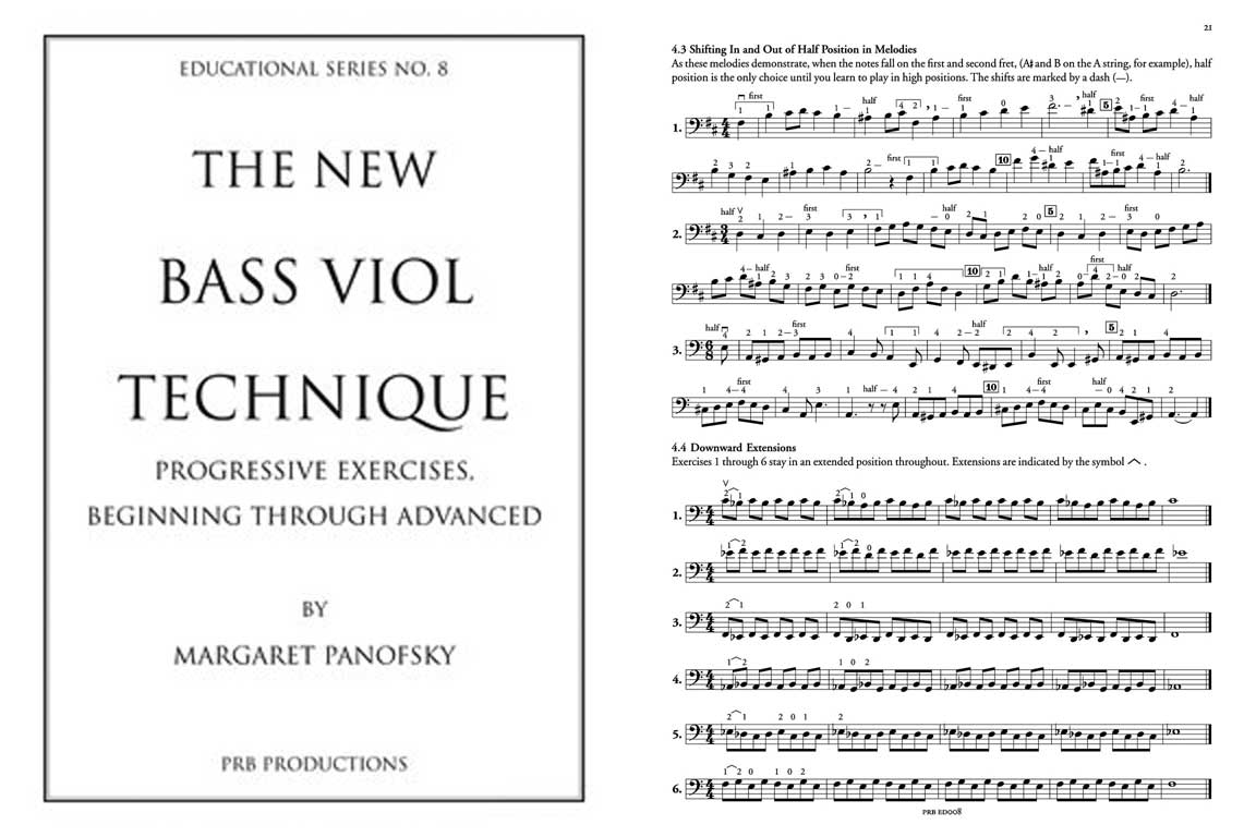 The New Bass Viol Technique